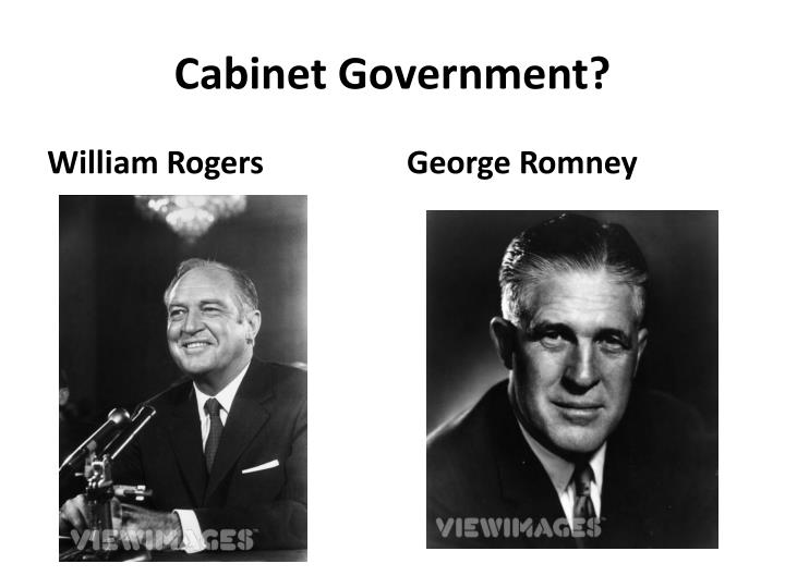 Cabinet Government?