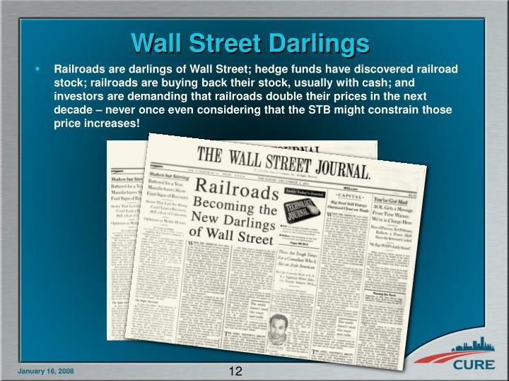 Wall Street Darlings