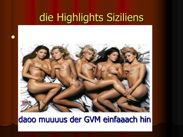die Highlights Siziliens