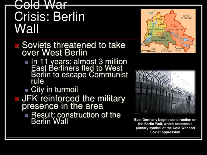 Cold War Crisis: Berlin Wall
