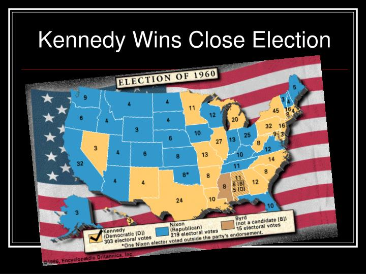 Kennedy Wins Close Election