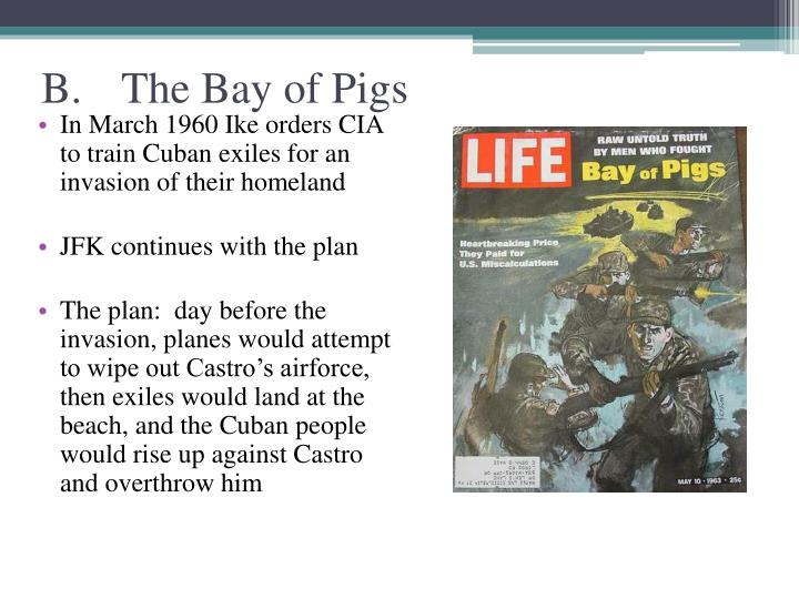 B.The Bay of Pigs
