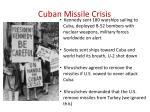 cuban missile crisis2