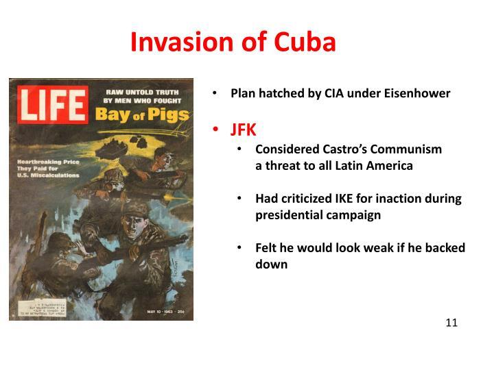 Invasion of Cuba
