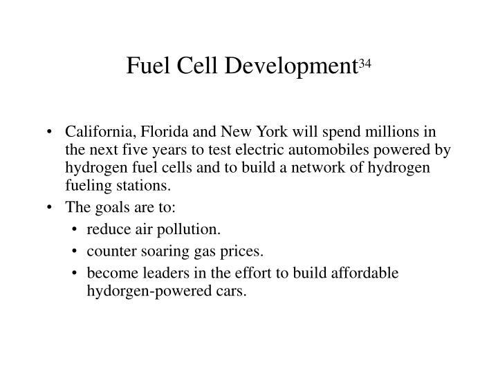 Fuel Cell Development