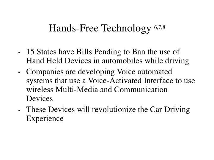 Hands-Free Technology