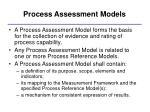process assessment models