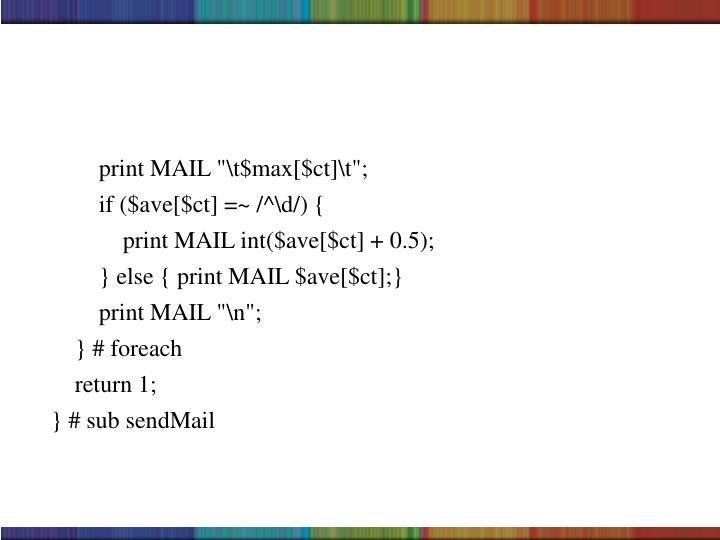 """print MAIL """"\t$max[$ct]\t"""";"""