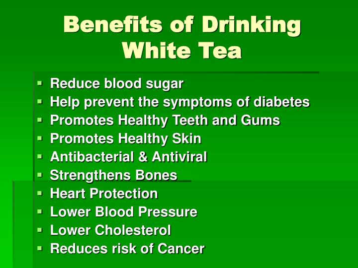 Benefits of Drinking