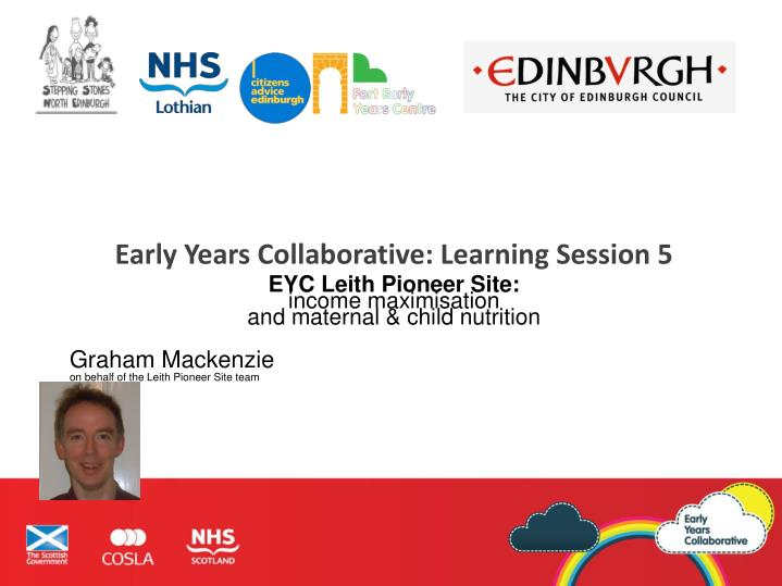 Early Years Collaborative: Learning Session 5