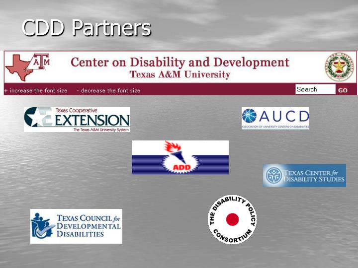 CDD Partners