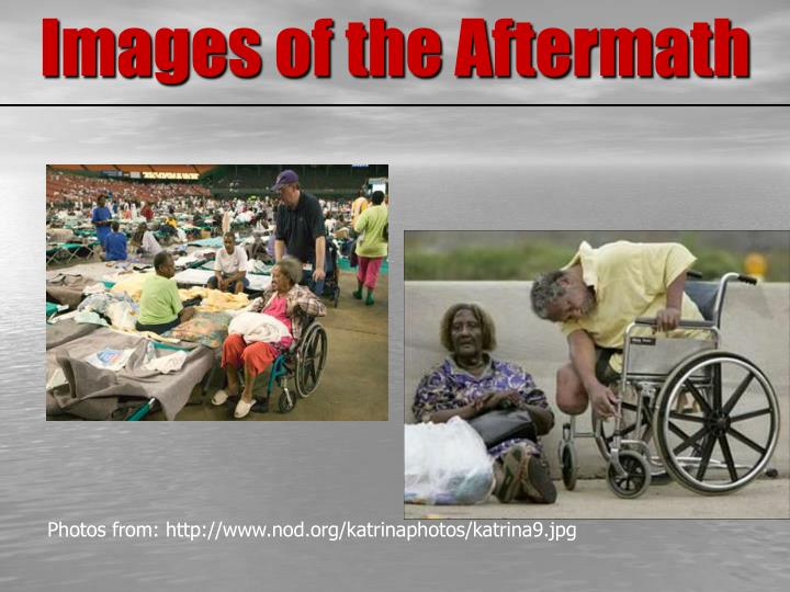 Images of the Aftermath