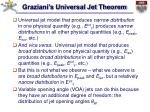 graziani s universal jet theorem