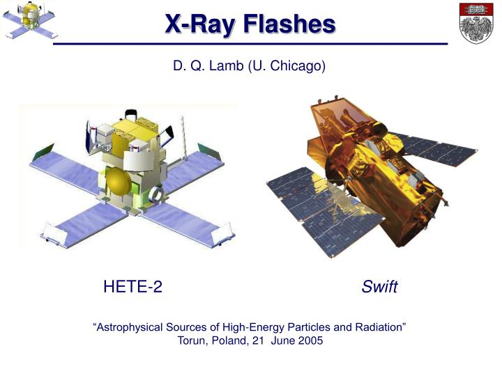 X-Ray Flashes