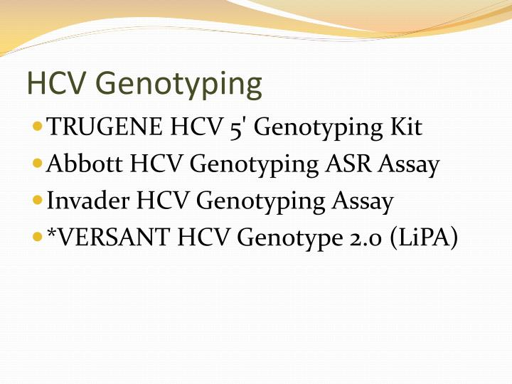 HCV Genotyping