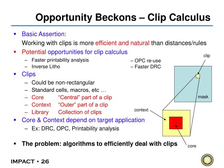 Opportunity Beckons – Clip Calculus