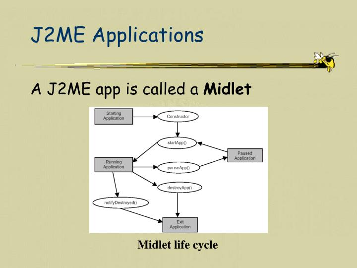 J2ME Applications