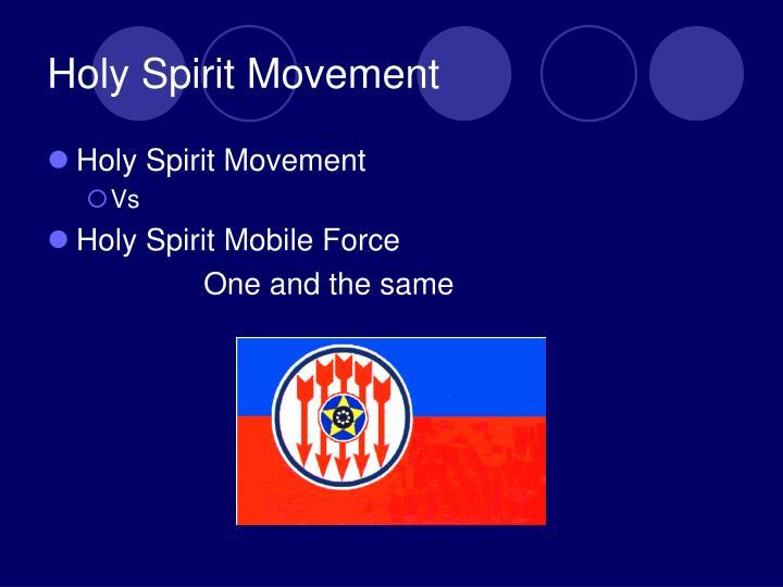 Holy Spirit Movement