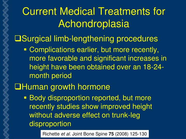 Current Medical Treatments for Achondroplasia
