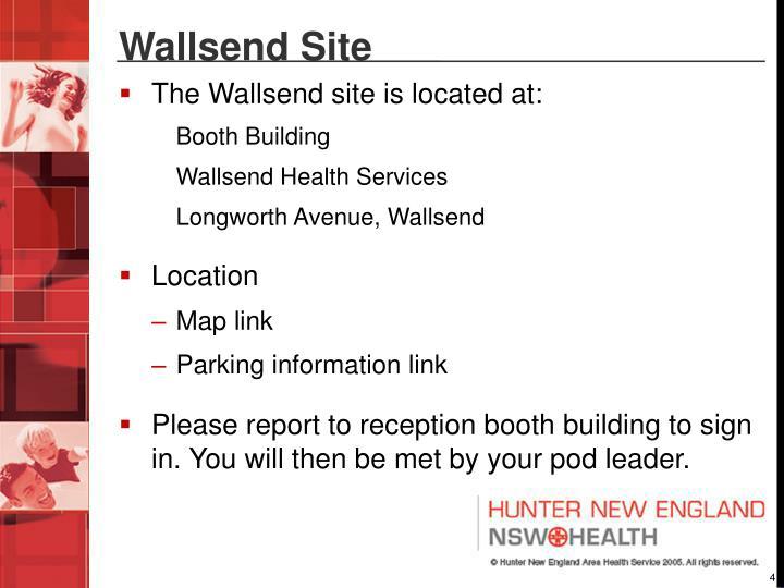 Wallsend Site