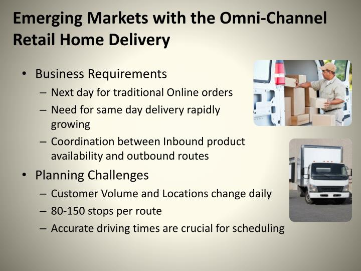 Emerging Markets with the Omni-Channel