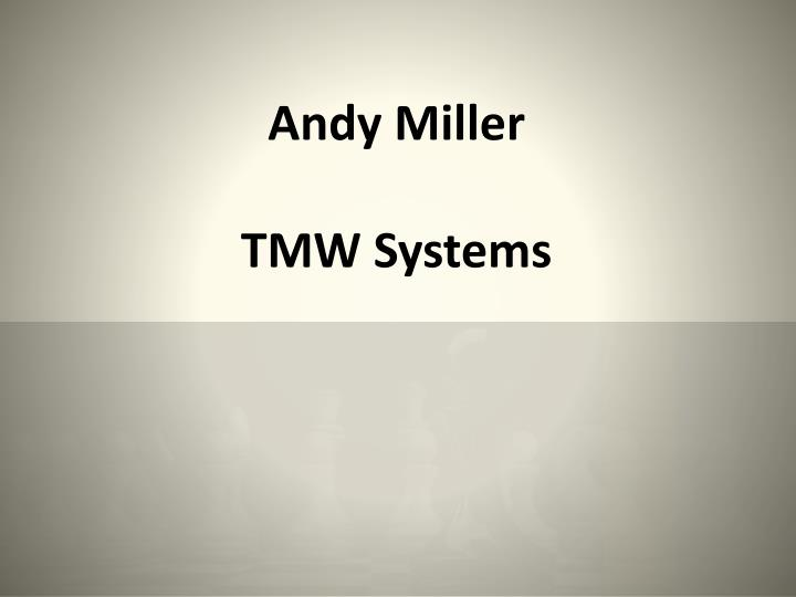 Andy Miller