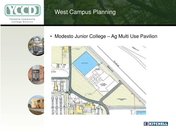West Campus Planning