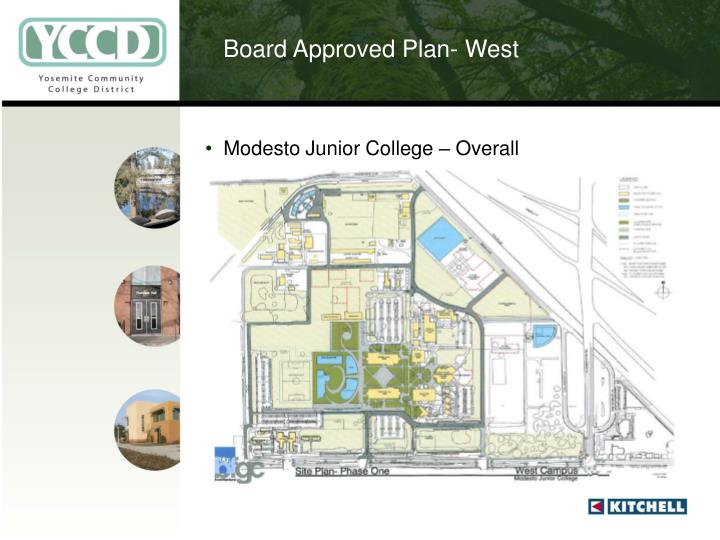 Board Approved Plan- West