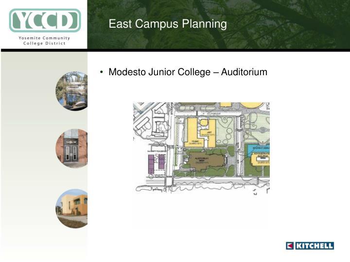 East Campus Planning