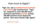 how much to apply1
