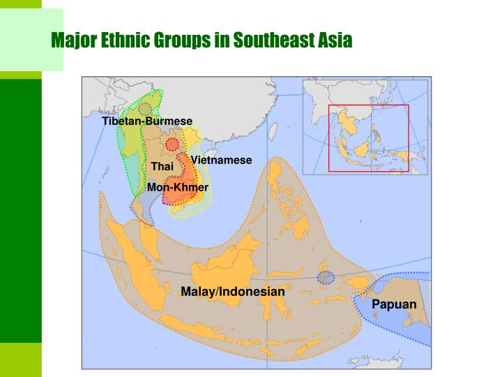 Major Ethnic Groups in Southeast Asia