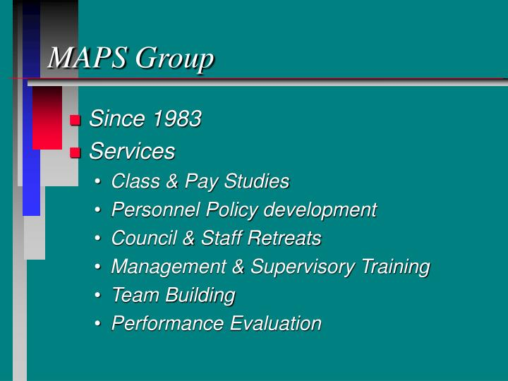 Maps group