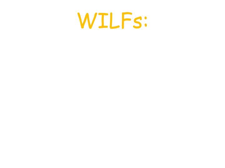 WILFs: