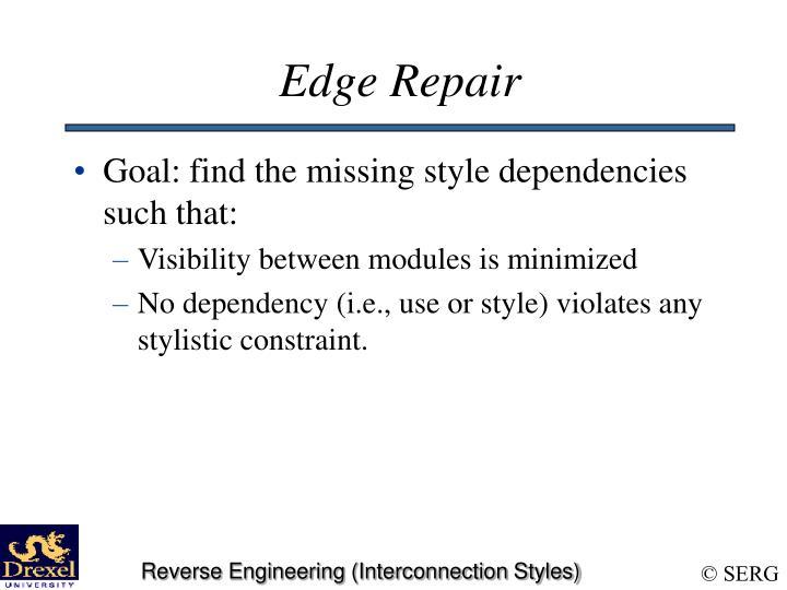 Edge Repair