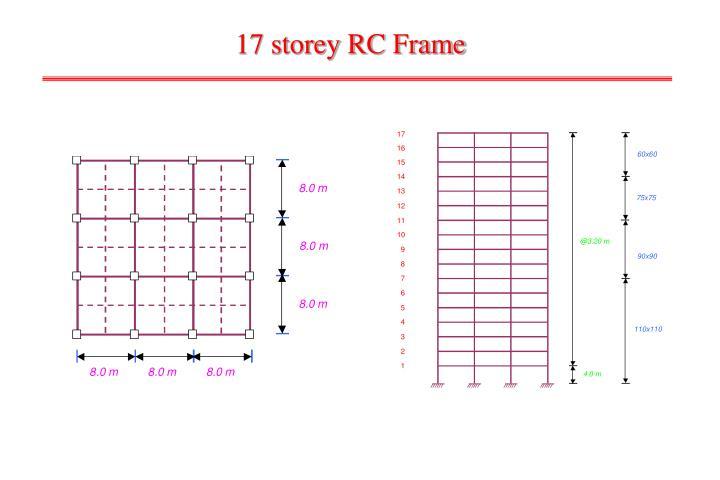 17 storey RC Frame