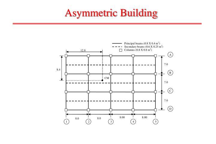 Asymmetric Building