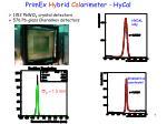 primex hy brid cal orimeter hycal