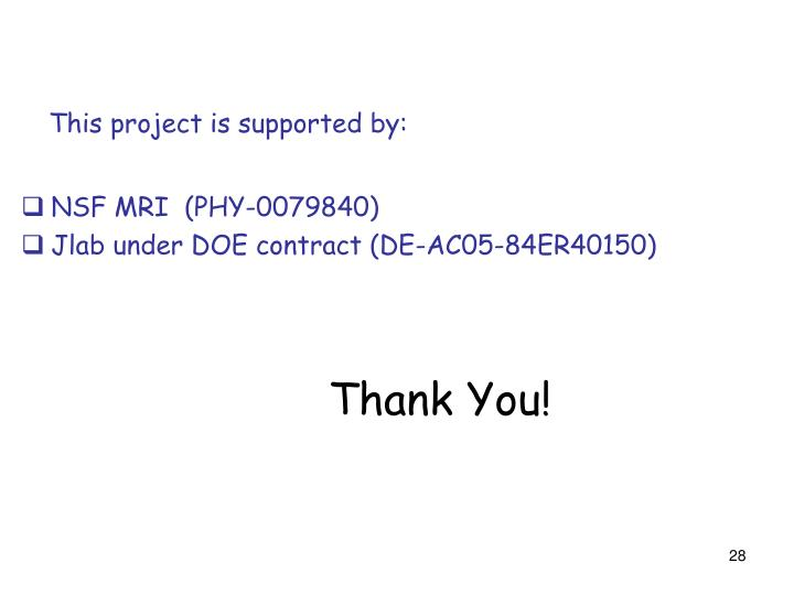 This project is supported by: