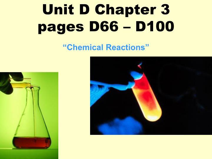 Unit D Chapter 3