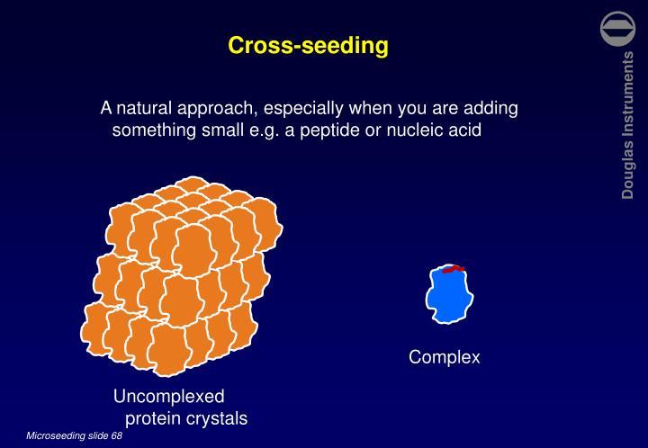 Cross-seeding