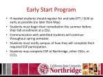early start program