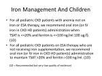 iron management and children