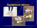 equipment advice1