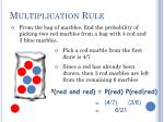multiplication rule1