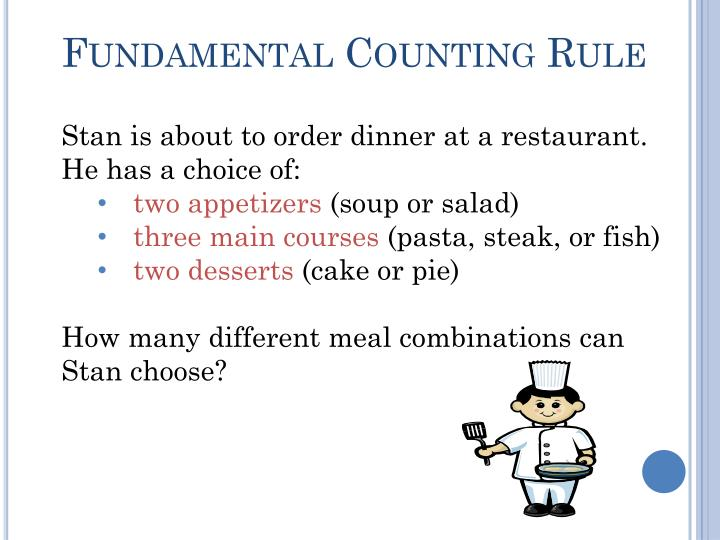 Fundamental Counting Rule