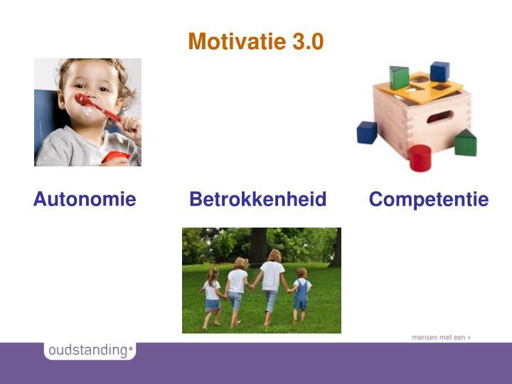 Motivatie 3.0