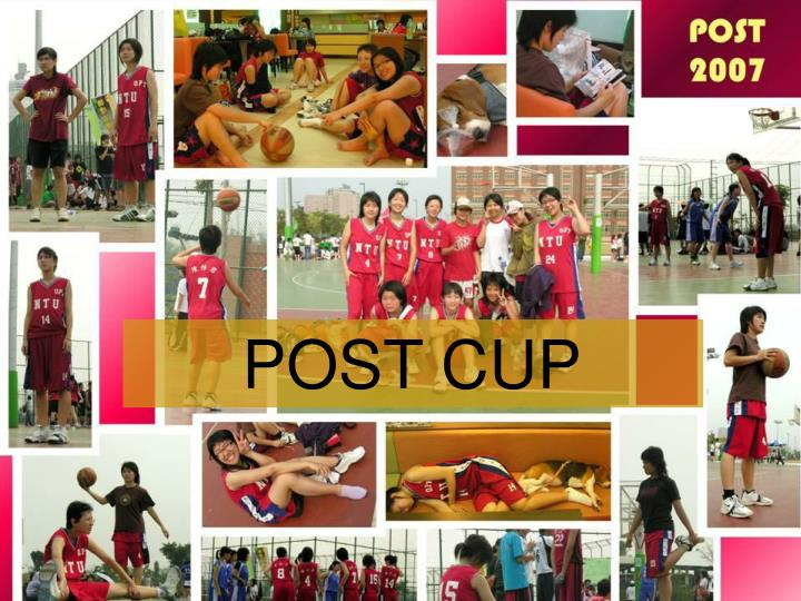 POST CUP