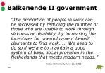 balkenende ii government