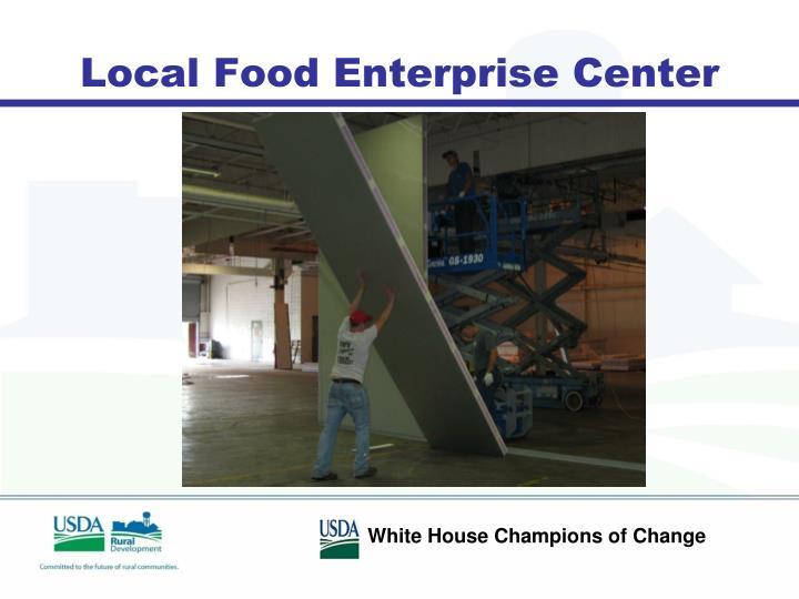 Local Food Enterprise Center
