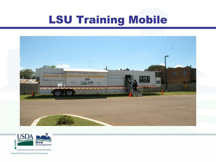 LSU Training Mobile